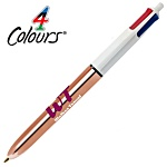 Bic 4 Colour Pen - Shine