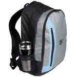 Vertical Zipper Backpack