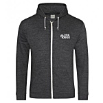 AWDis Heather Zipped Hoodie