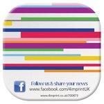 Brite-Mat Coaster - Stripes Design