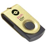1GB Twister Mini Accent Flashdrive