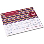 Brite-Mat Mousemat - Rectangular - Stripes Calendar Design
