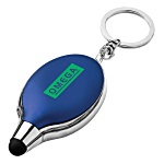 Oval Stylus Keyring Torch