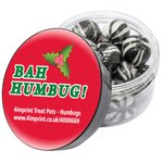 4imprint Treat Pot - Humbugs - Christmas Design