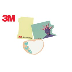 View a larger, more detailed picture of the 3M Die Cut Post-it Notes
