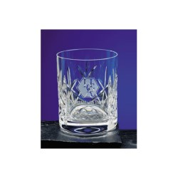 View a larger, more detailed picture of the Flamenco Lead Crystal Panel Whisky Tumbler