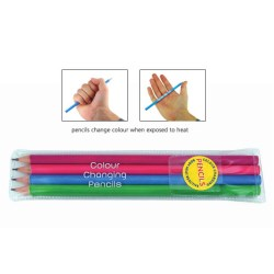 View a larger, more detailed picture of the Colour Change Pencil Pack
