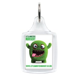 View a larger, more detailed picture of the Classic Keyring - Full Colour