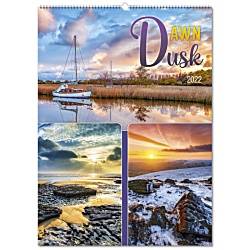 View a larger, more detailed picture of the Wall Calendar - Dawn and Dusk