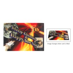 View a larger, more detailed picture of the Large Lenticular Business Card