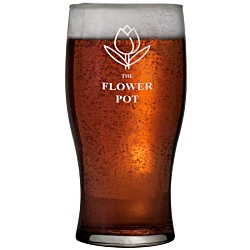 View a larger, more detailed picture of the Tulip Pint Glass