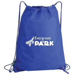 View a larger, more detailed picture of the Value Drawstring Bag