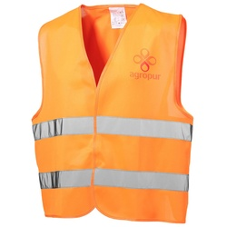 View a larger, more detailed picture of the Hi Vis Safety Vest - Yellow