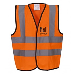View a larger, more detailed picture of the Hi Vis Kids Waistcoat