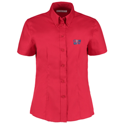 View a larger, more detailed picture of the Kustom Kit Lady Fit Corporate Oxford Shirt - Short Sleeve