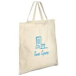 View a larger, more detailed picture of the Eco-Friendly Short Handled Tote Bag - 2 day