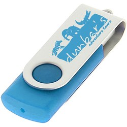 View a larger, more detailed picture of the 2gb Twister Promotional Flashdrive