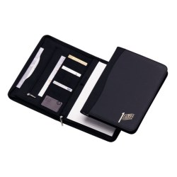 View a larger, more detailed picture of the Ambassador A4 Zipped Conference Folder - 2 days