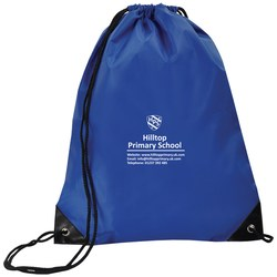 View a larger, more detailed picture of the Economy Drawstring Bag