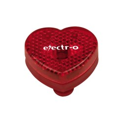 View a larger, more detailed picture of the Heart Shaped Plastic Reflector