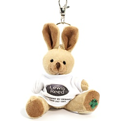 View a larger, more detailed picture of the Rabbit Keyring - T-Shirt