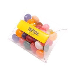 View a larger, more detailed picture of the Large Sweet Pouch - 40g Gourmet Jelly Beans