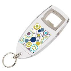 View a larger, more detailed picture of the Bottle Opener Keyring - Full Colour