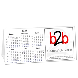 View a larger, more detailed picture of the Duo Desk Calendar