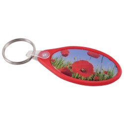 View a larger, more detailed picture of the DISC Racer Keyring - Oval