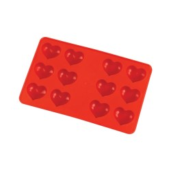 View a larger, more detailed picture of the DISC Ice Cube Tray - Heart