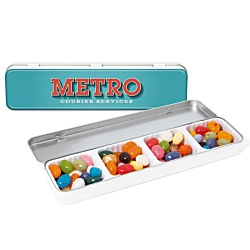 View a larger, more detailed picture of the Slim Tin - Gourmet Jelly Beans
