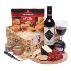 View a larger, more detailed picture of the  Fine Taste Deluxe Hamper