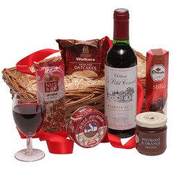 View a larger, more detailed picture of the  Sweet & Savoury Classic Hamper