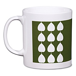 View a larger, more detailed picture of the Cambridge Mug - Leaf Design