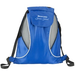 View a larger, more detailed picture of the Sports Drawstring Bag