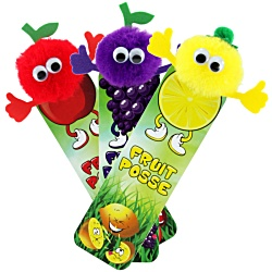 View a larger, more detailed picture of the Fruit Bug Bookmarks - Mixed Fruits