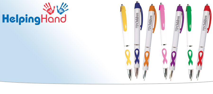 Helping Hand - 4imprint's way of giving a little back to charitable organisations & good causes!